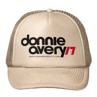 Donnie Avery Cap Trucker Hats