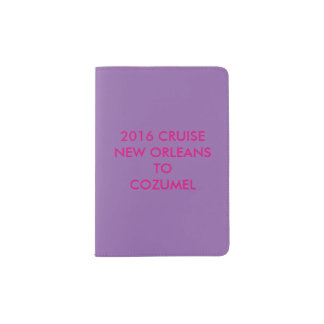 Donnie Girl Passport Holder