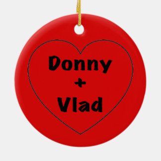 Donny + Vlad Christmas Ornament