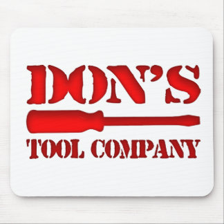 Don's Tool Company Mouse Pad