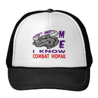 Don't angry me, i know Combat Hopak. Trucker Hats