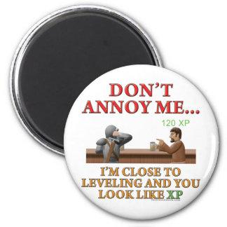 Don't Annoy Me 6 Cm Round Magnet