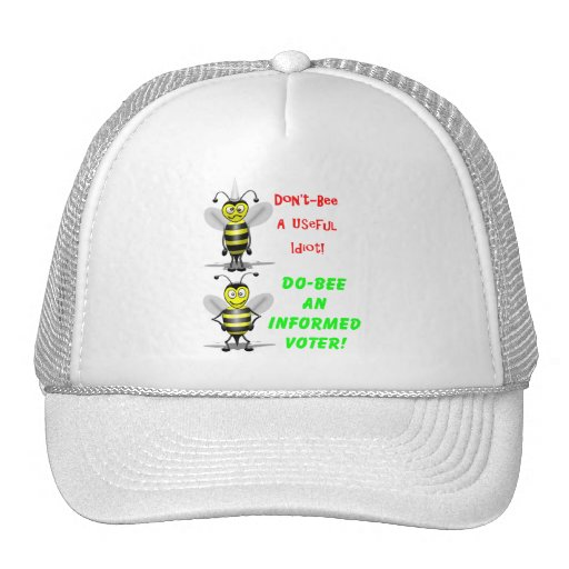 Don't Be A Useful Idiot Mesh Hats