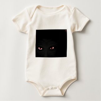 Don't be afraid of the dark! baby bodysuit