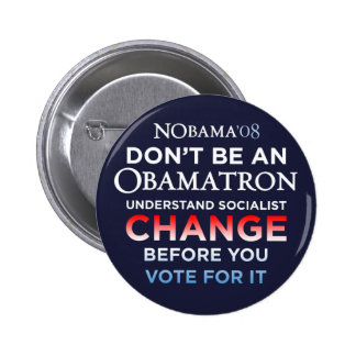 Don't Be An Obamatron - Understand Change Button