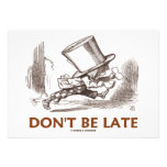Don't Be Late (Mad Hatter Running) Announcement
