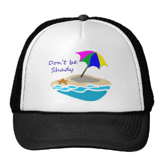 Dont Be Shady Umbrella Cap