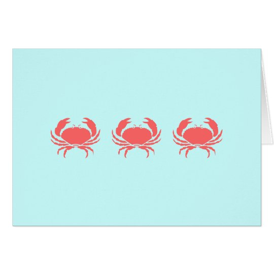 DON'T BE SO CRABBY CARD