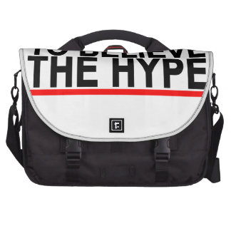 Don't Believe the Hype T-shirts.png Computer Bag