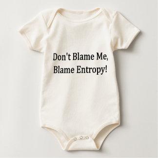 Don't Blame Me, Blame Entropy! Baby Bodysuit