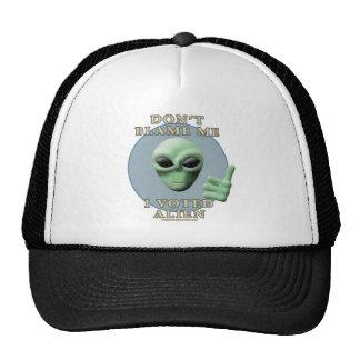 Don't Blame Me, I Voted Alien Mesh Hat