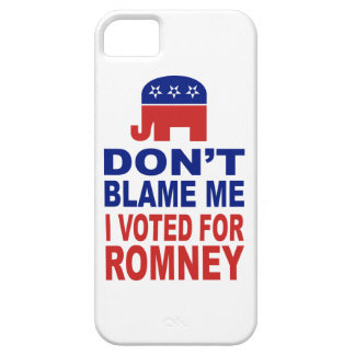 Don't Blame Me I Voted For Romney Case For The iPhone 5