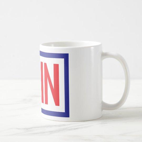 Don't Blame Me I Voted in Coffee Mug