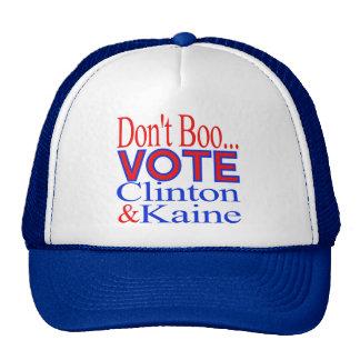 Don't Boo...Vote! Clinton & Kaine Cap