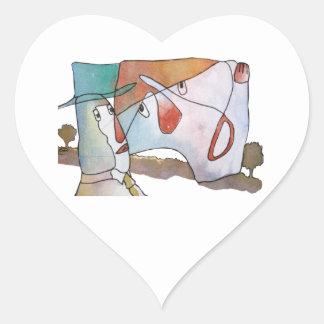 Don't Bore Me! Heart Sticker
