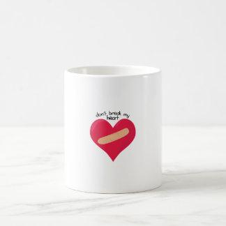 Dont Break Heart Coffee Mug