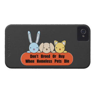 Don't Breed Or Buy iPhone 4 Case-Mate Case