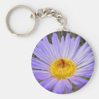 Don't bug me! basic round button key ring