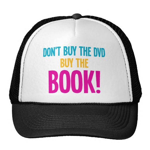 Don't Buy The DVD, Buy The Book Mesh Hats