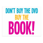 Don't Buy The DVD, Buy The Book Postcards