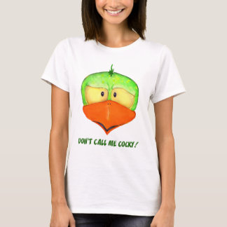 Dont Call Me Cocky Ladies T Shirt