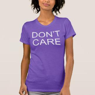 Don't Care T-Shirt Tumblr