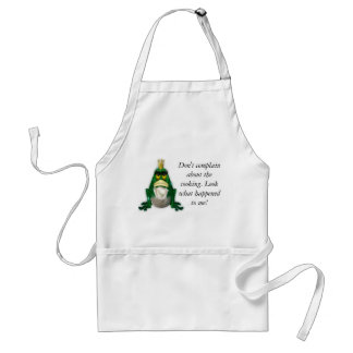 Don't Complain About the Cooking Apron