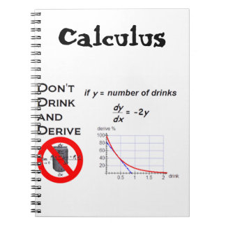 Don't Driink and Derive Notebook