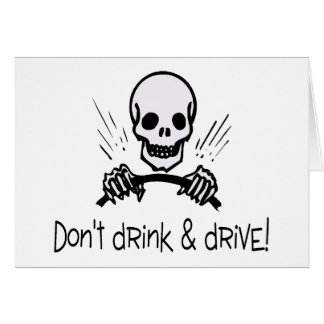 Dont Drink And Drive Cards