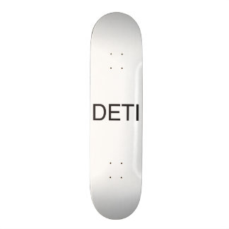 don't even think it.ai skate board deck