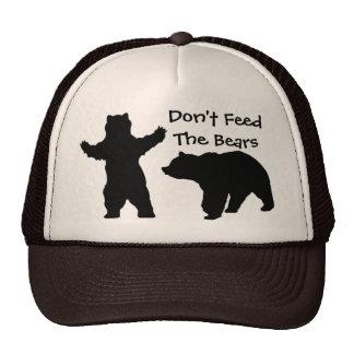 Don't feed the bears cap
