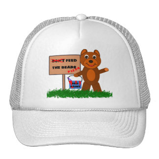 Don't Feed The Bears Mesh Hats