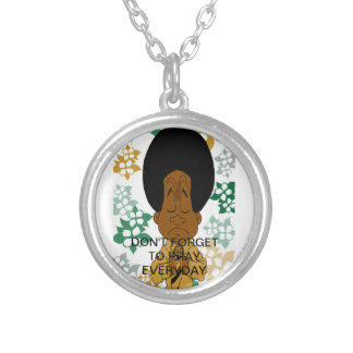 Don't For Get To Pray Everyday Neckless Silver Plated Necklace