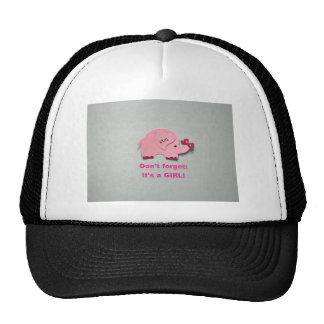 Don't forget: It's a girl! Mesh Hat