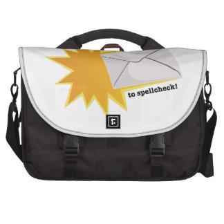 Don't Forget Laptop Shoulder Bag