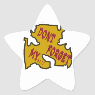Dont forget my star sticker
