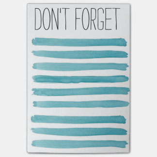 DONT FORGET Note Pad Post-it® Notes