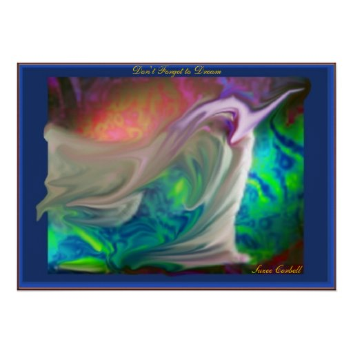 Don't Forget to Dream canvas print