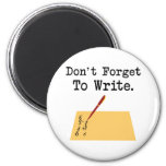Don't Forget To Write Magnets