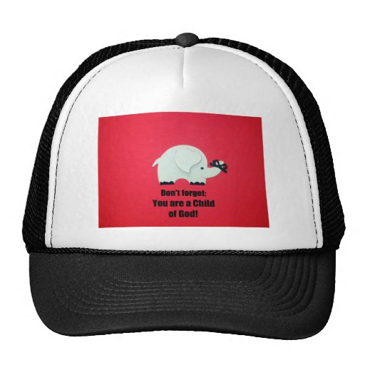 Don't forget: You are a Child of God! Hats