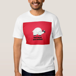 Don't forget your seatbelt tee shirt
