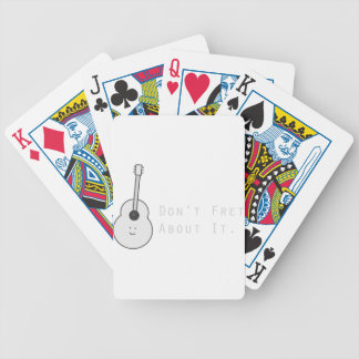 Don't Fret About It Bicycle Playing Cards