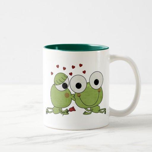 Don't Frog-et the Kiss Valentine Gifts Mug