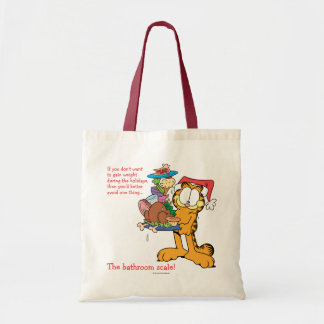 Don't Gain Weight During the Holidays Budget Tote Bag