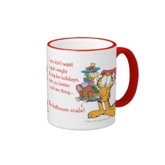 Don't Gain Weight During the Holidays Ringer Mug