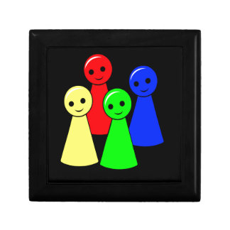 Don't get angry small square gift box
