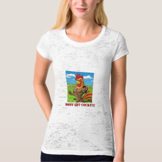 Don't Get Cocky Farm (Womens) Tees