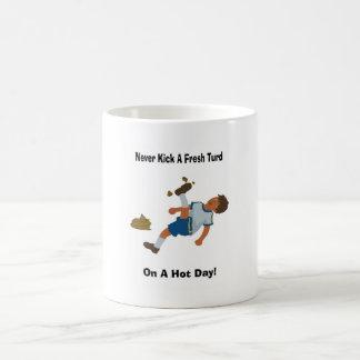 Don't Get Fresh! Classic White Coffee Mug