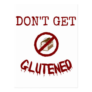 Don't Get Glutened Postcard