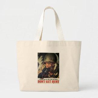 Don't Get Hurt World War 2 Bag